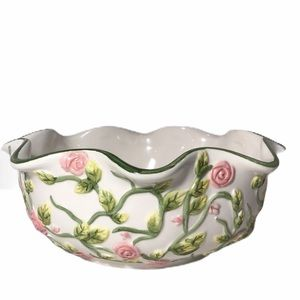 Style Eyes by Baum Brothers Ceramic Bowl